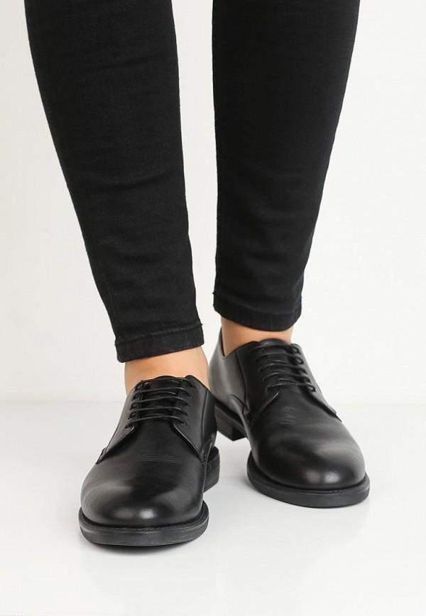 Фото 10 - женские ботинки и полуботинки Vagabond черного цвета