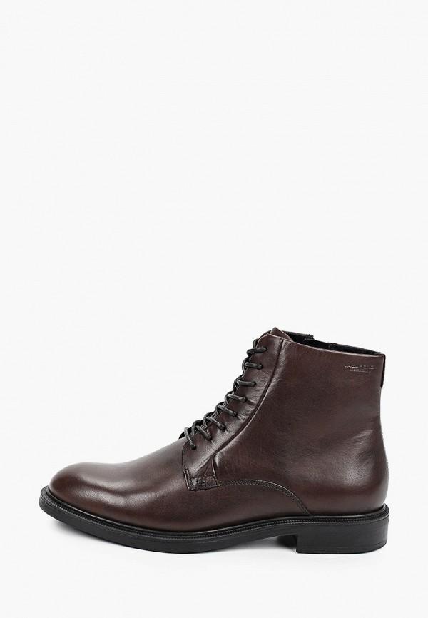 женские ботинки vagabond, коричневые