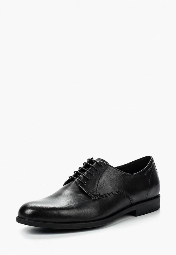 женские низкие ботинки vagabond, черные