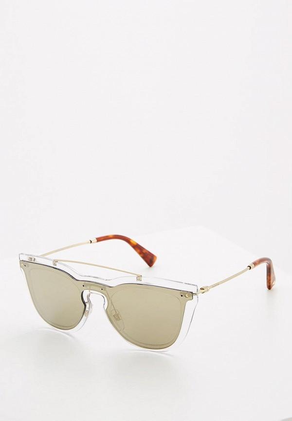 мужские солнцезащитные очки valentino, золотые