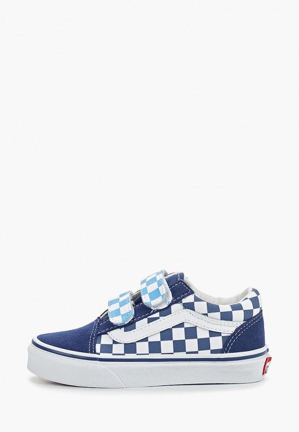 кеды vans для мальчика, синие
