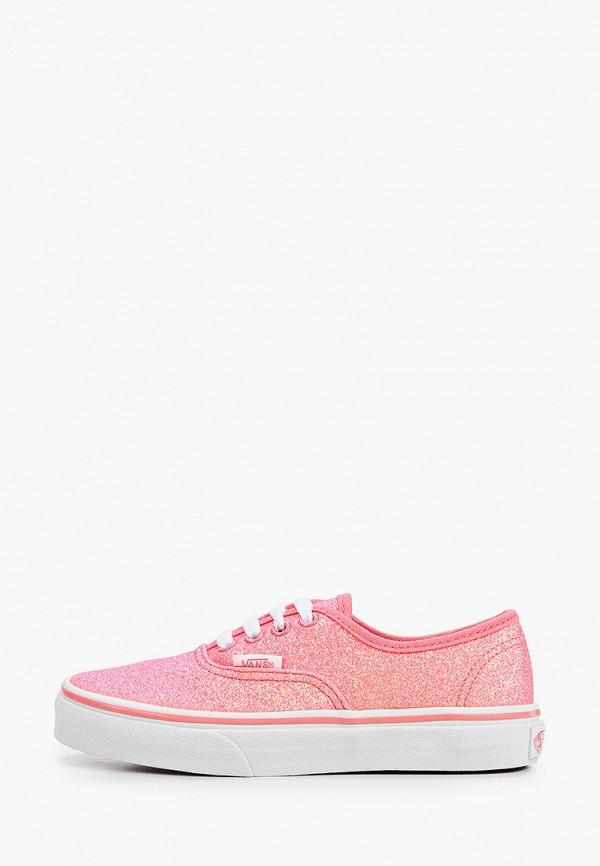 кеды vans для девочки, розовые
