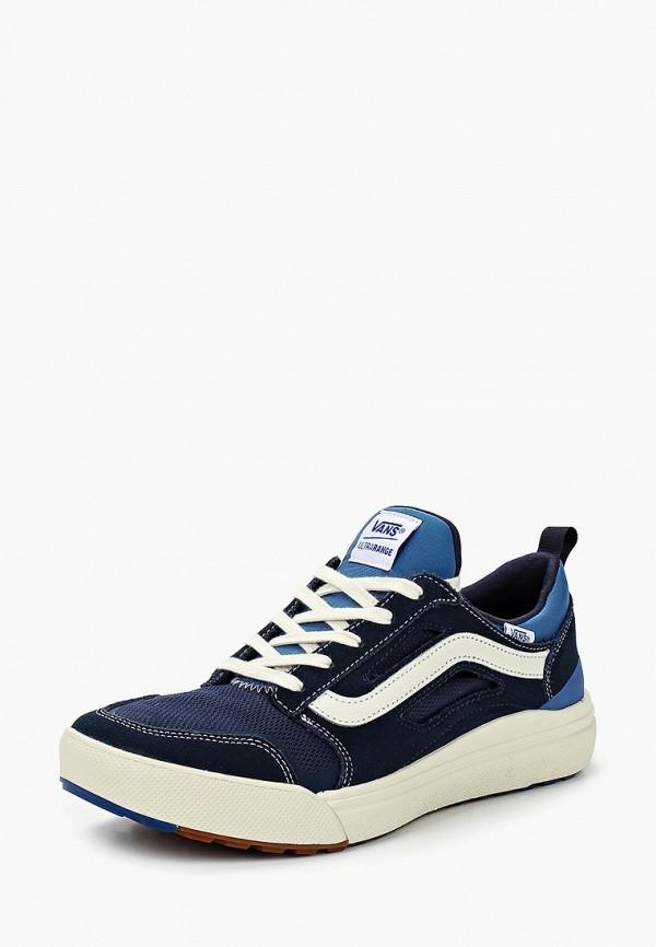 мужские низкие кроссовки vans, синие