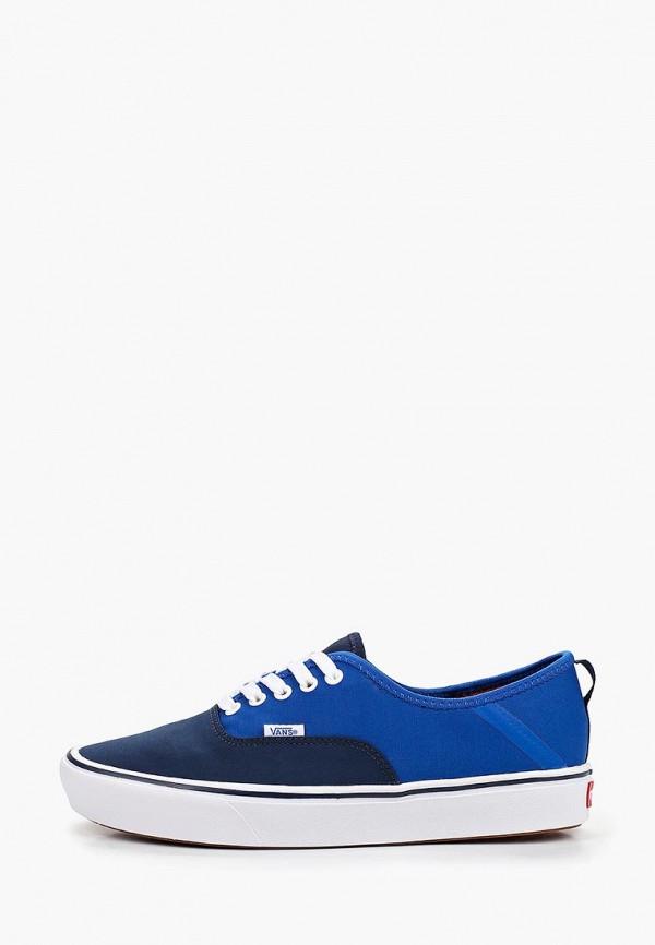 мужские кеды vans, синие
