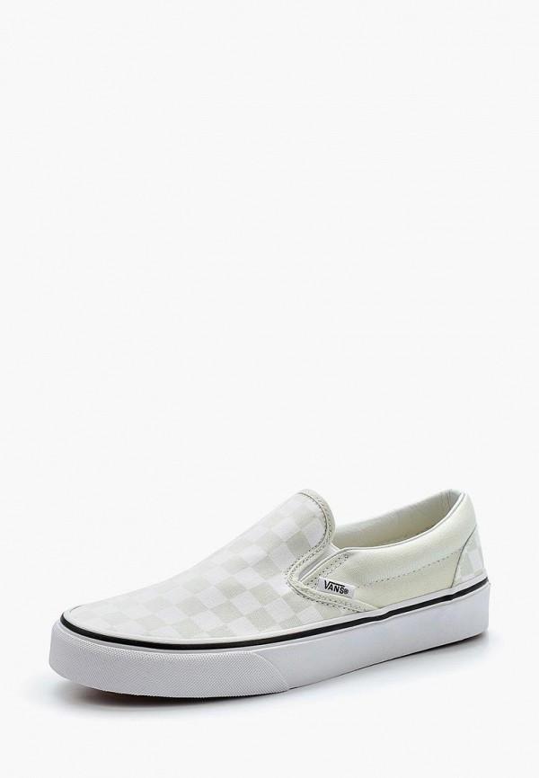 Купить Слипоны Vans, CLASSIC SLIP-ON, VA984AUAJYJ4, зеленый, Весна-лето 2018