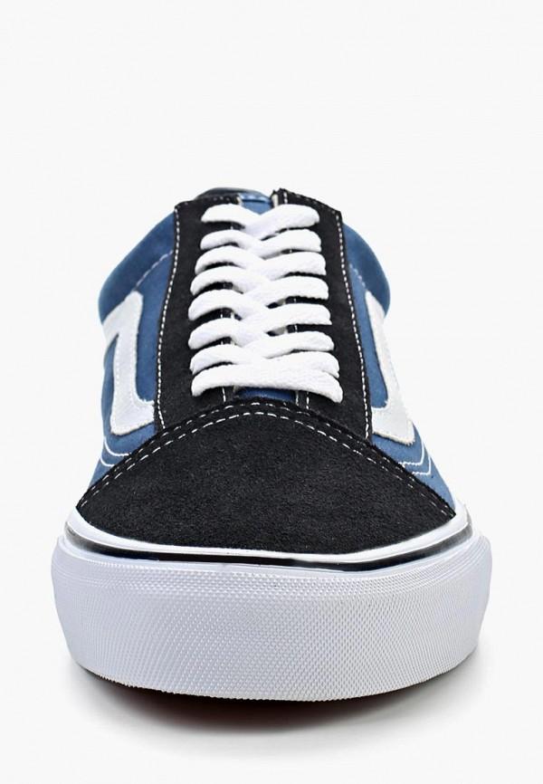 Фото 18 - женские кеды Vans синего цвета