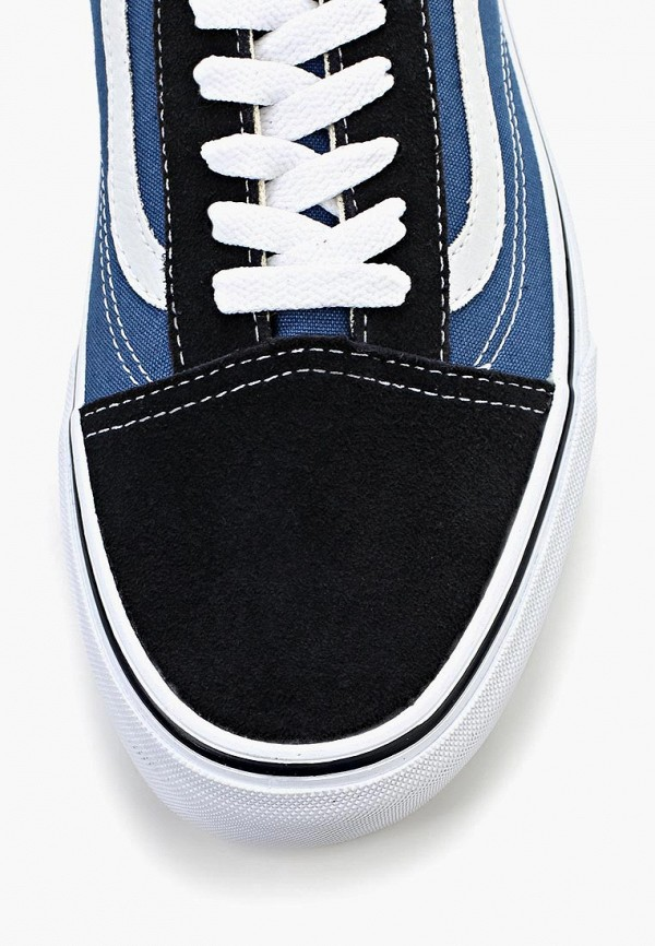 Фото 20 - женские кеды Vans синего цвета