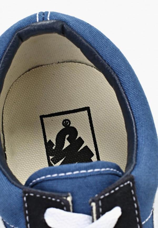 Фото 7 - женские кеды Vans синего цвета