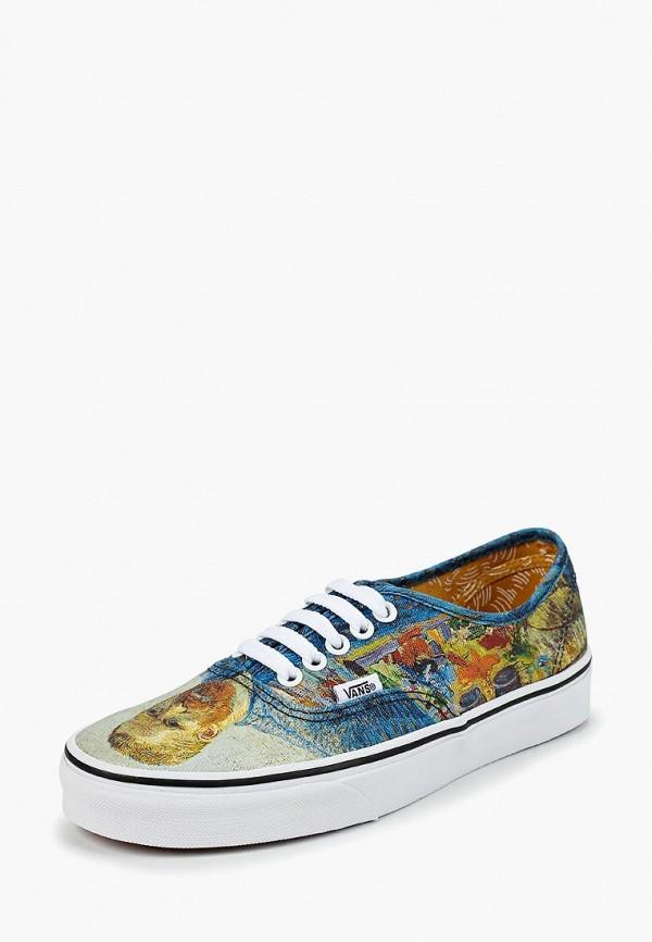 Купить Кеды Vans, VANS X VAN GOGH AUTHENTIC, VA984AUCAHI8, разноцветный, Осень-зима 2018/2019