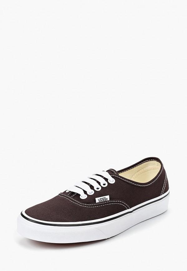 Купить Кеды Vans, UA AUTHENTIC, VA984AUCAHI9, коричневый, Осень-зима 2018/2019