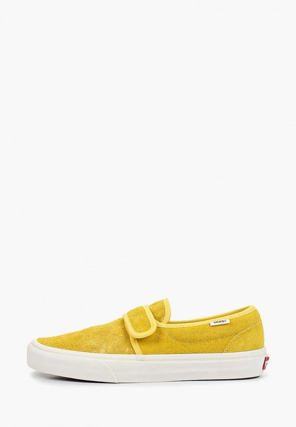 женские кеды vans, желтые