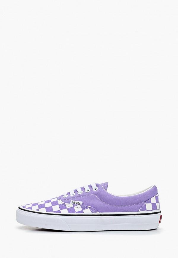 женские кеды vans, фиолетовые