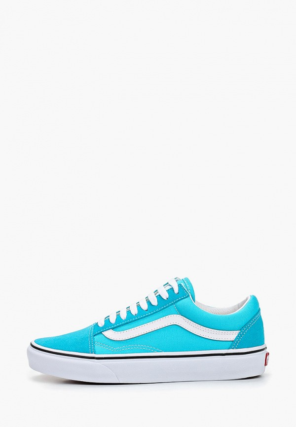 женские кеды vans, голубые