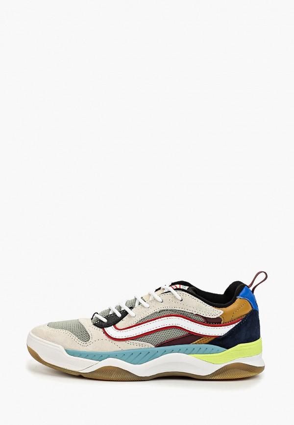 женские кроссовки vans, разноцветные