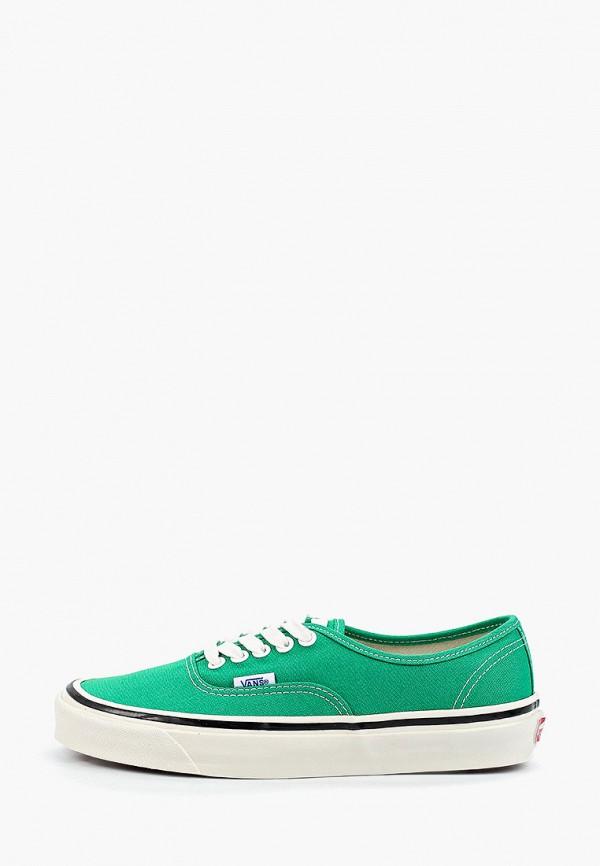 женские кеды vans, зеленые