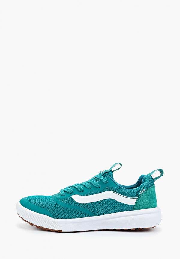 женские кроссовки vans, зеленые