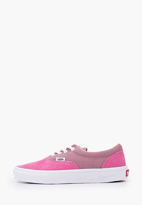 женские кеды vans, розовые