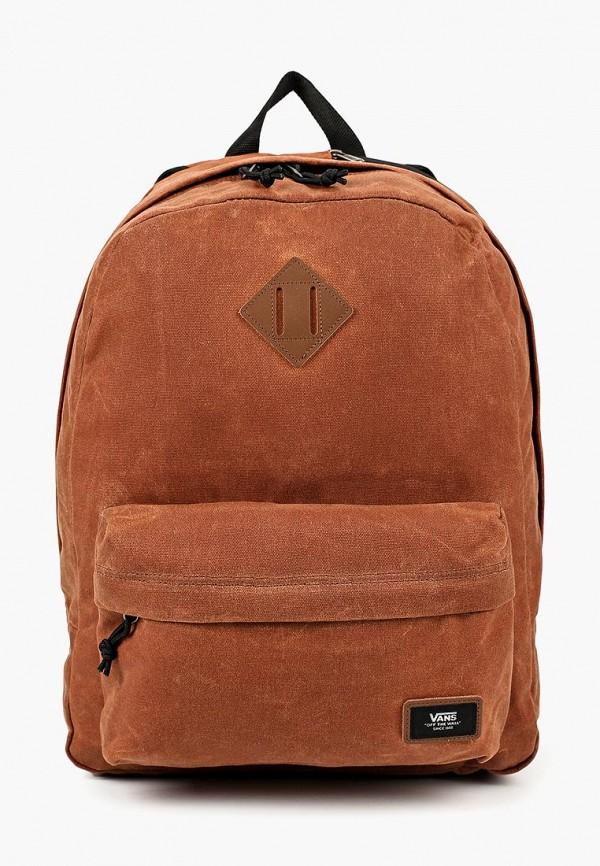 мужской рюкзак vans, коричневый