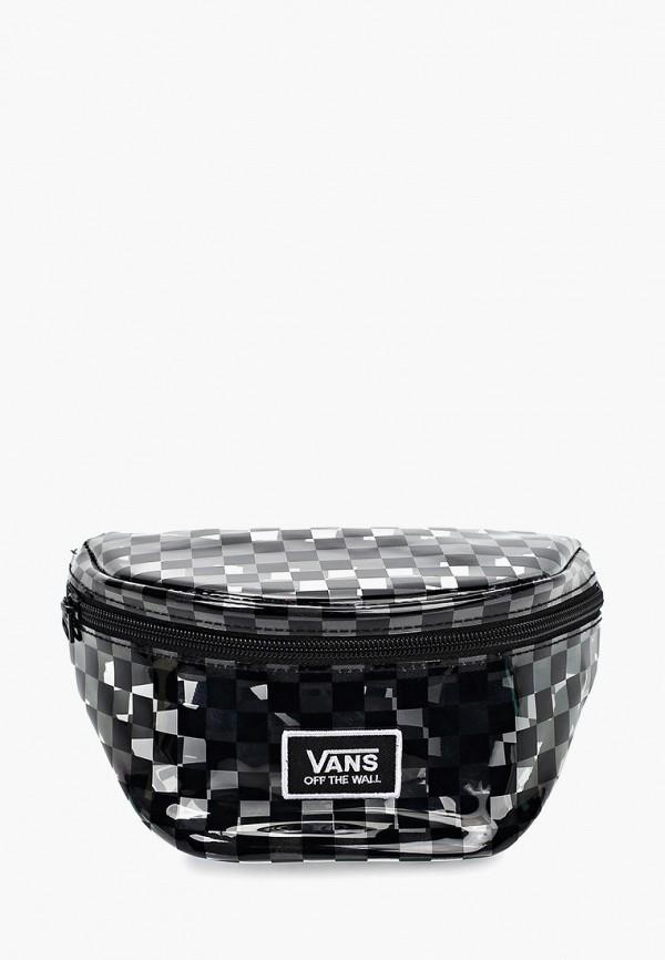 Купить Сумка поясная Vans, va984bmfhmg9, черный, Весна-лето 2019