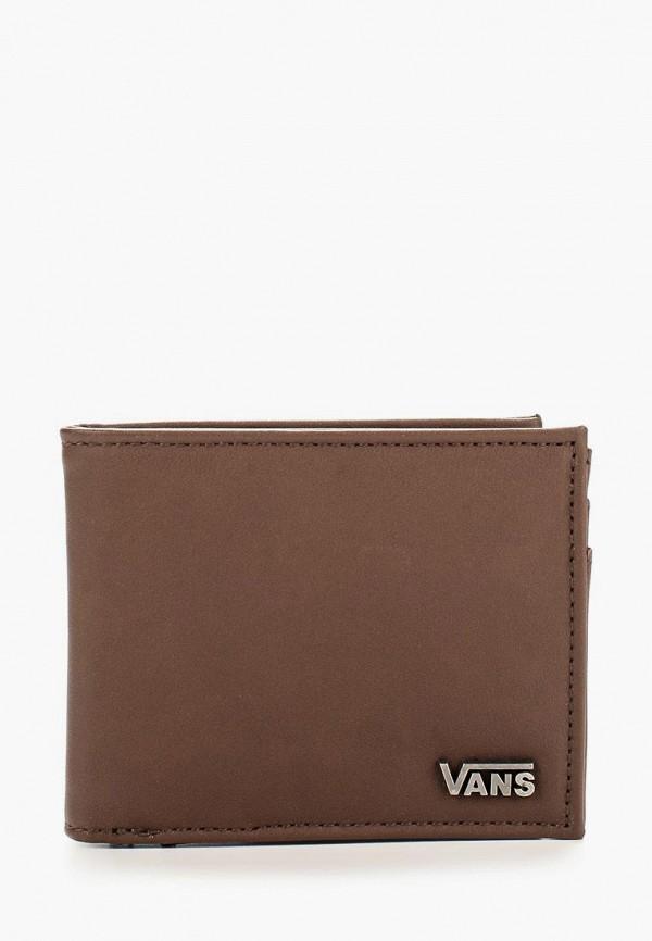 мужской кошелёк vans, коричневый