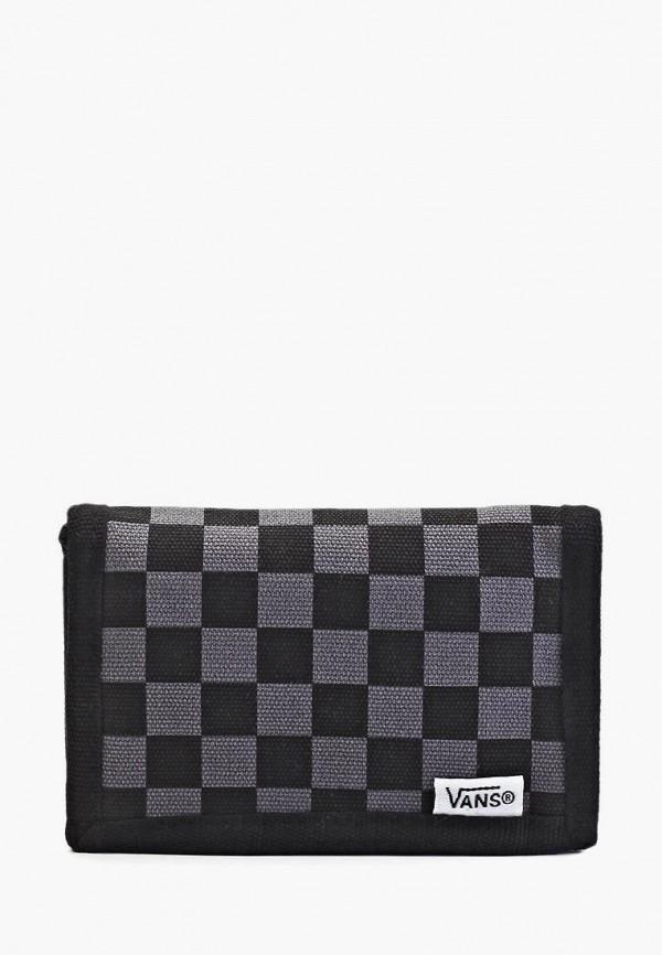 мужской кошелёк vans, черный
