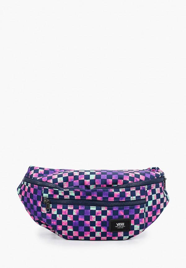 мужская поясные сумка vans, фиолетовая