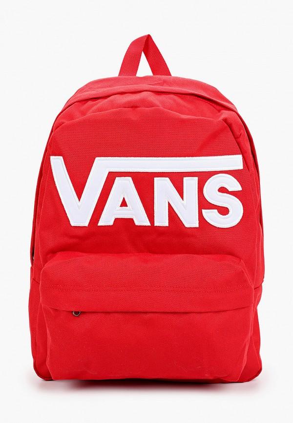 мужской рюкзак vans, красный