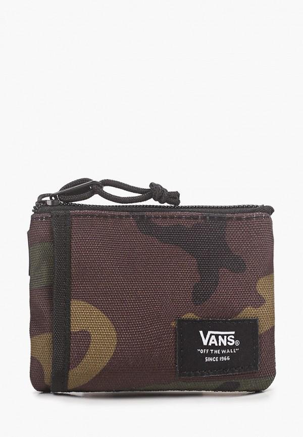 мужской кошелёк vans, хаки
