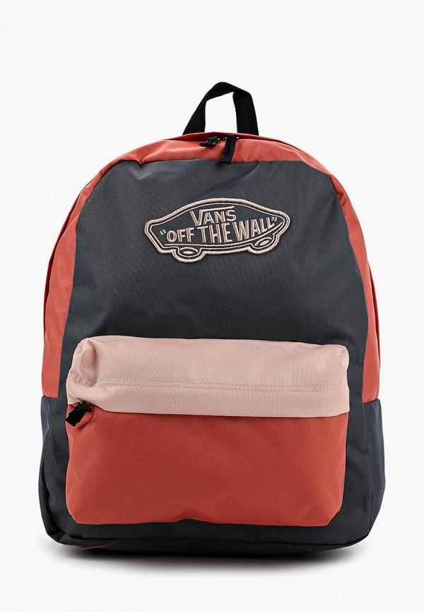 Рюкзак Vans Vans VA984BWAJWS8 vans рюкзак vans old skool ii classic camo