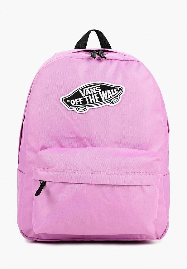 женский рюкзак vans, фиолетовый