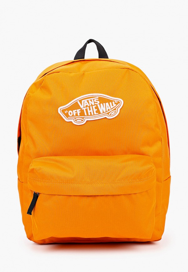 женский рюкзак vans, оранжевый