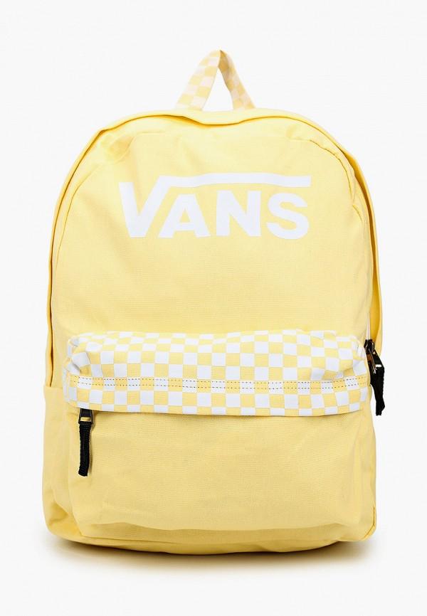 женский рюкзак vans, желтый