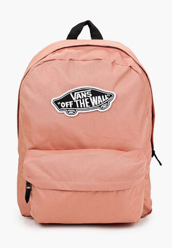 женский рюкзак vans, розовый
