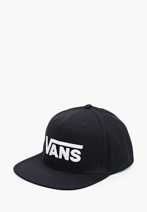 бейсболка vans для мальчика, черная