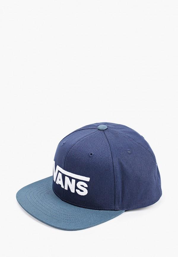 бейсболка vans для мальчика, синяя