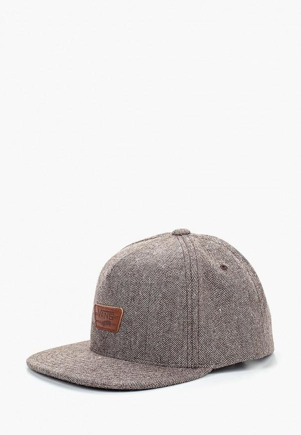 Купить Бейсболка Vans, MINI FULL PATCH, VA984CMCAHQ9, коричневый, Осень-зима 2018/2019