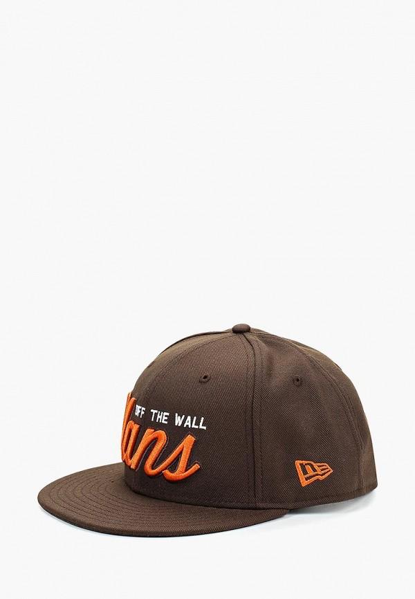 Бейсболка Vans Vans VA984CMCAHR4 бейсболка vans vans va984cmbmwu4
