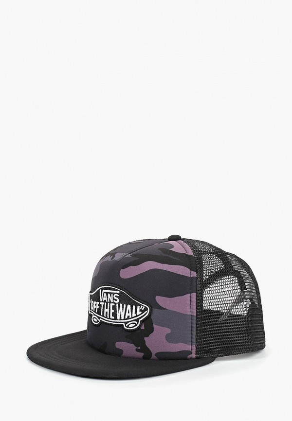 мужская бейсболка vans, черная