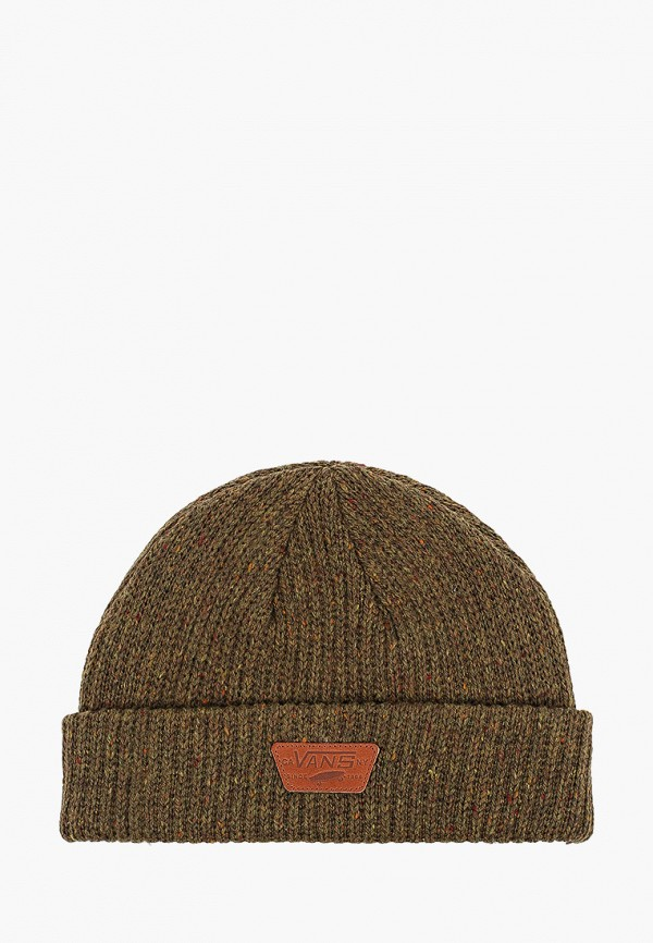мужская шапка vans, зеленая