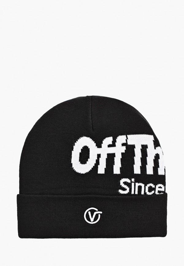 мужская шапка vans, черная