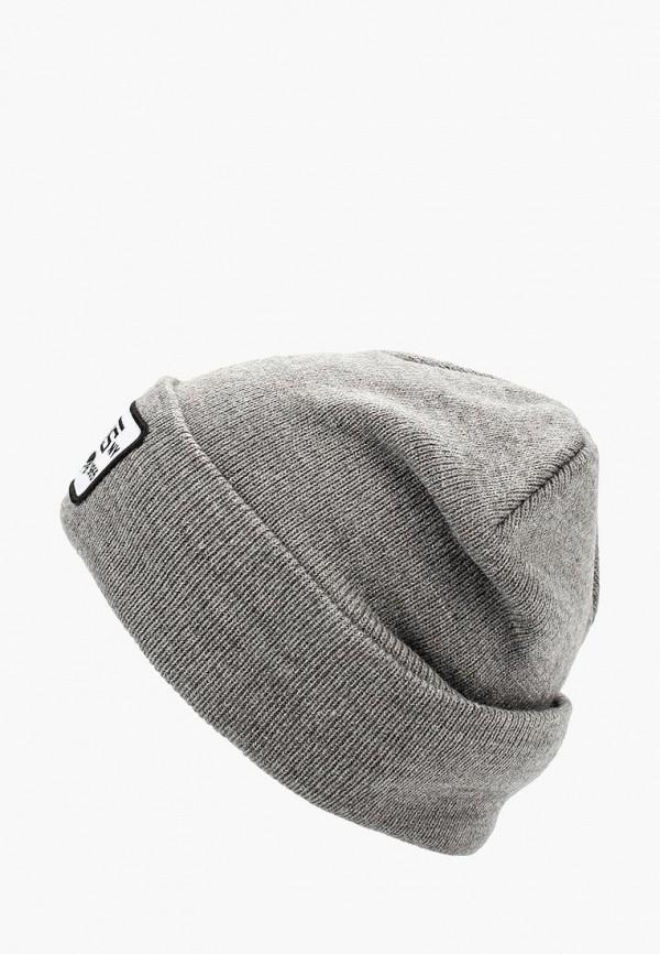 женская шапка vans, серая