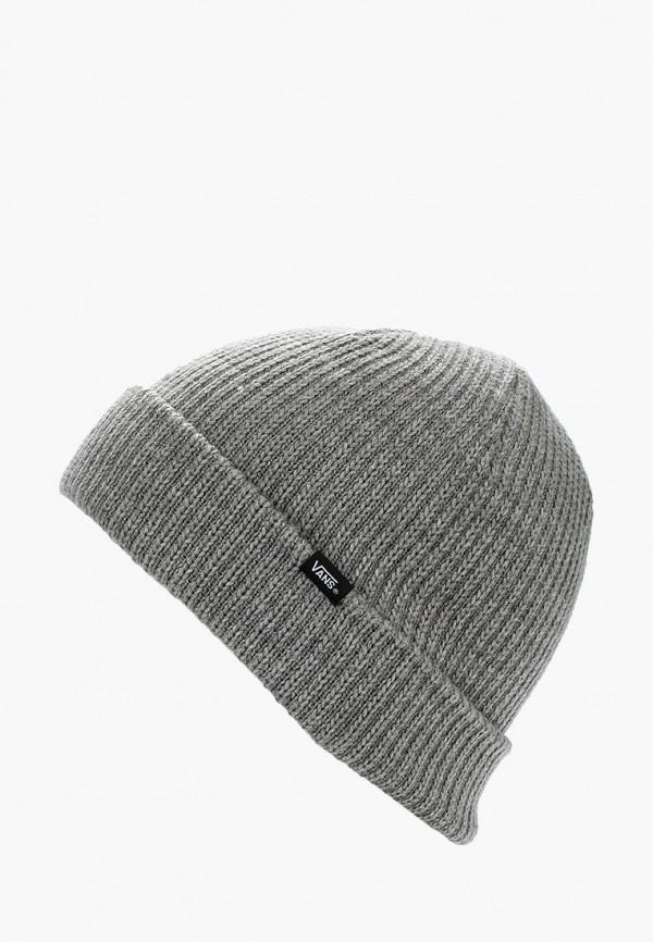 мужская шапка vans, серая