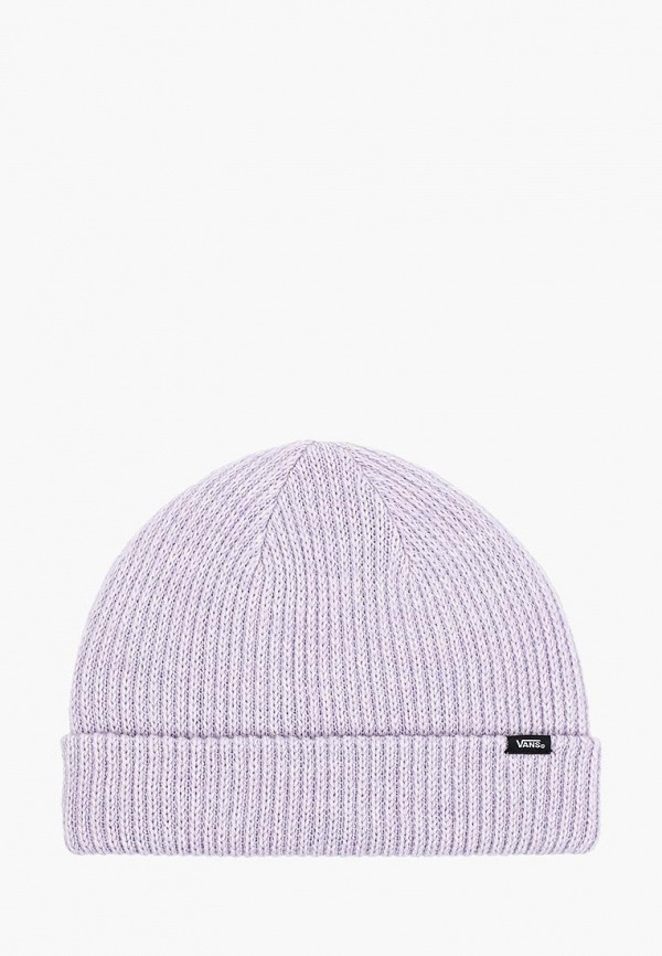 женская шапка vans, фиолетовая