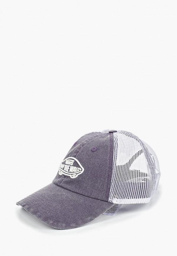 женская бейсболка vans, фиолетовая
