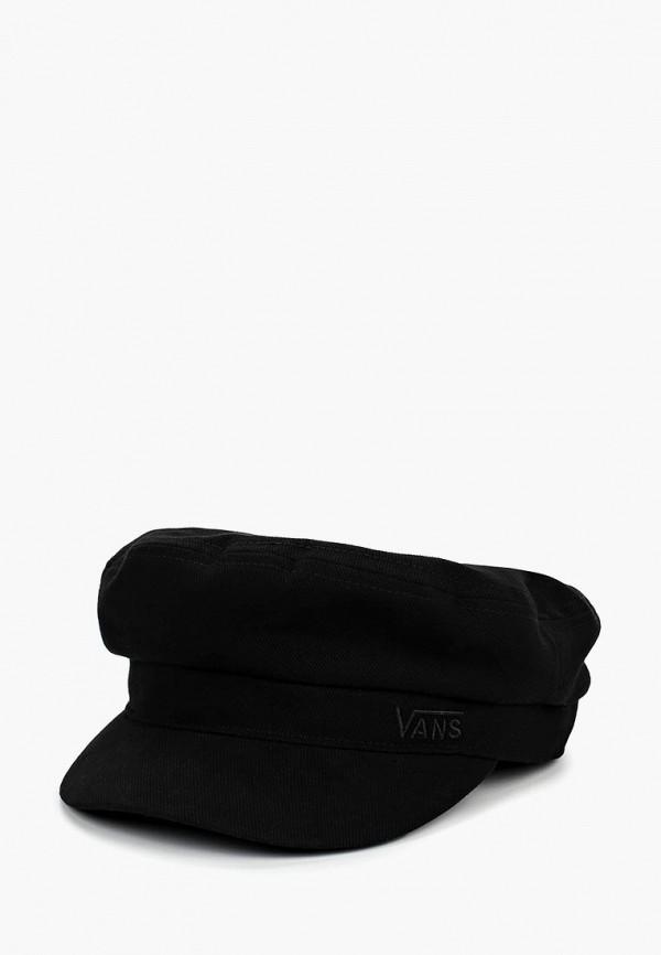 женская кепка vans, черная