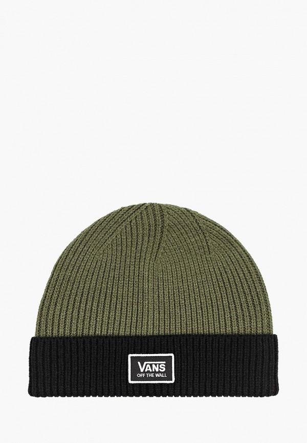 женская шапка vans, хаки