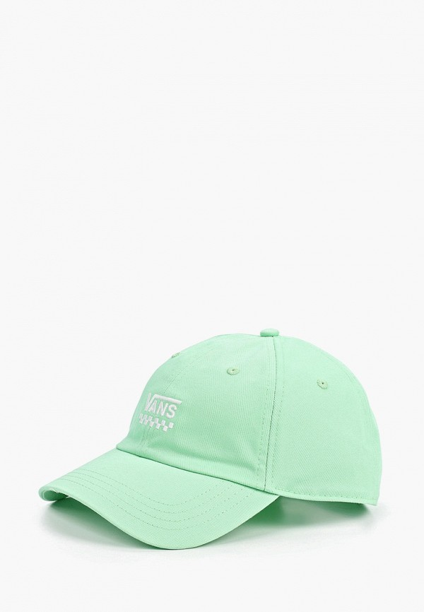 женская бейсболка vans, зеленая