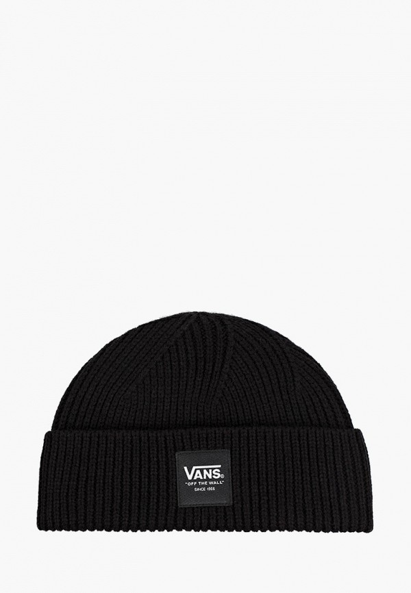 женская шапка vans, черная