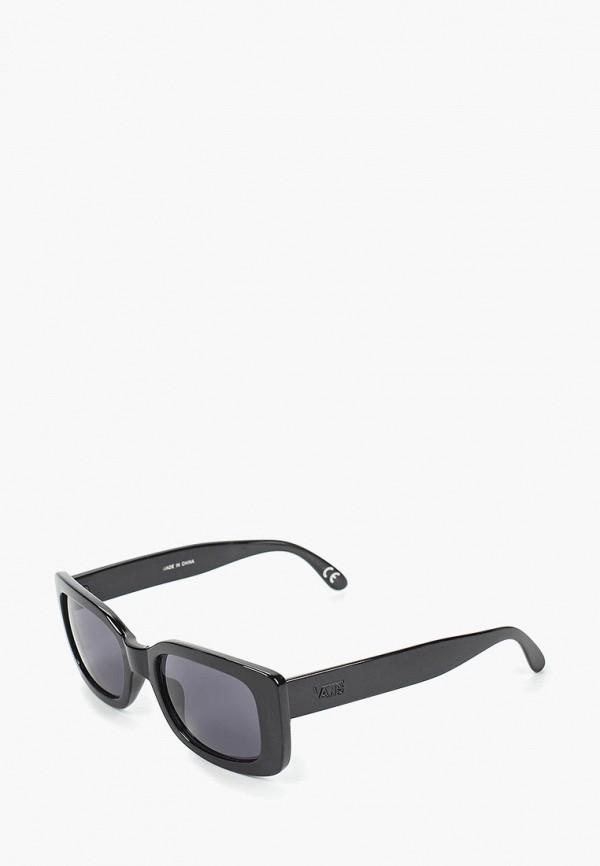 мужские квадратные солнцезащитные очки vans, черные