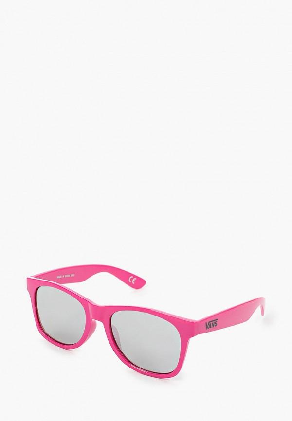 мужские квадратные солнцезащитные очки vans, розовые